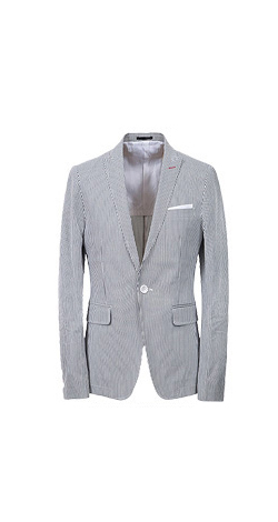 Cocktail party suit
