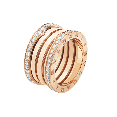 Fine grain gold ring
